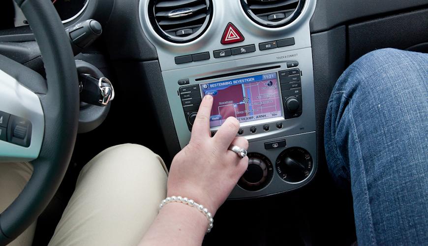 Gebruik navigatie standaard in rijexamen